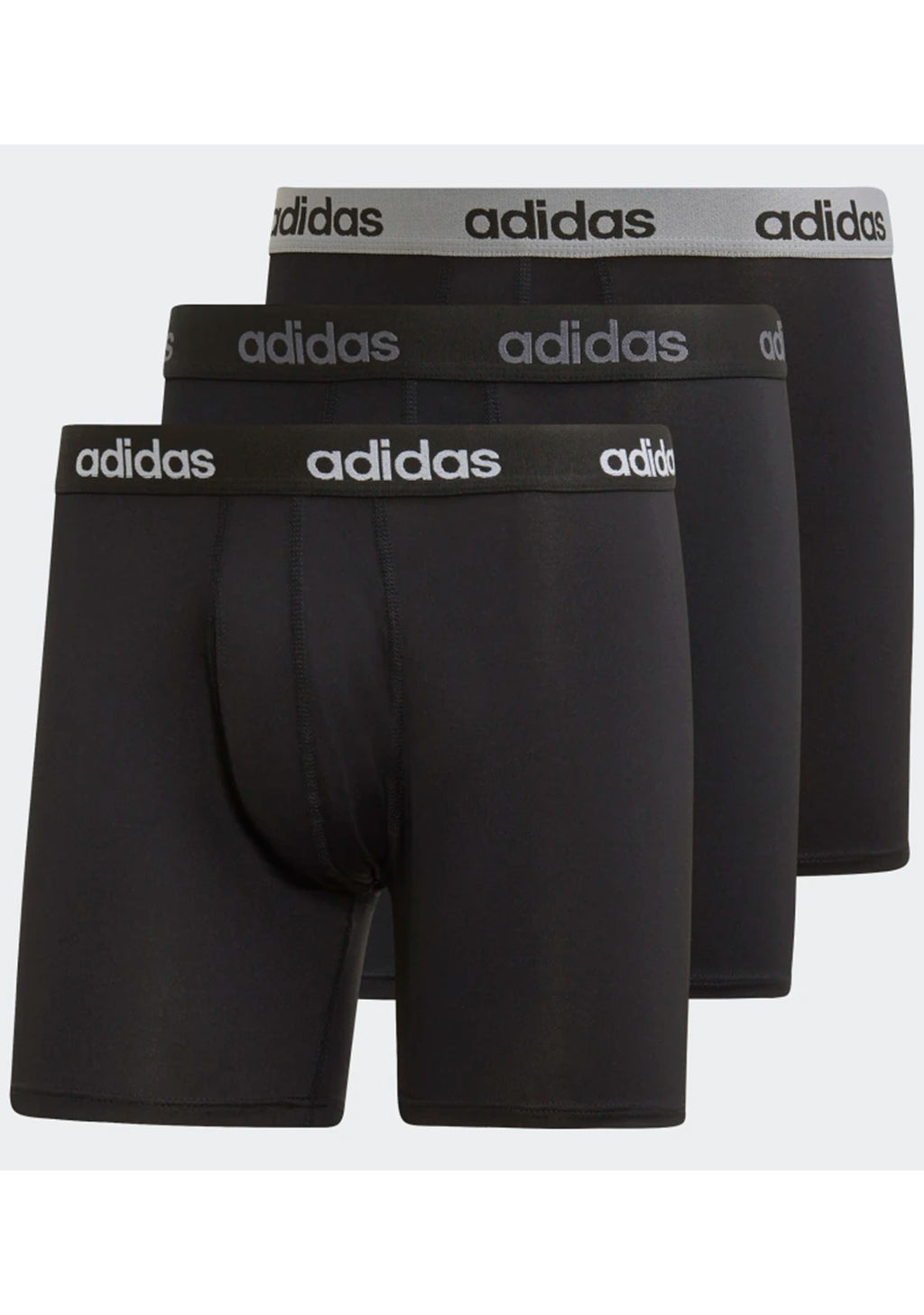 ADIDAS MENS CLIMACOOL BRIEFS (3 PACK) <BR> FS8396 <BR> ONLINE ONLY
