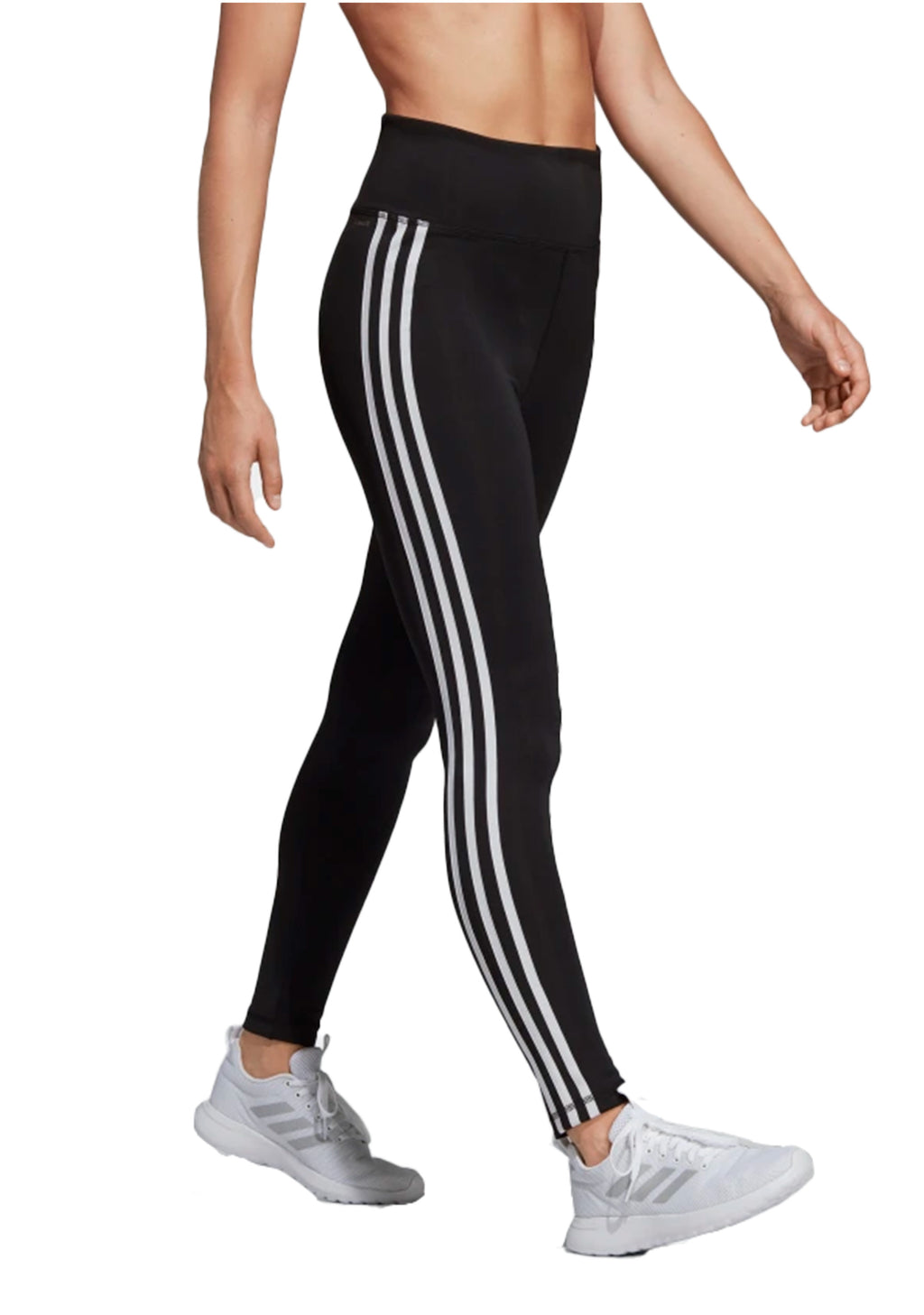 ADIDAS WOMENS D2M FULL LENGTH TIGHTS <BR> DU2040