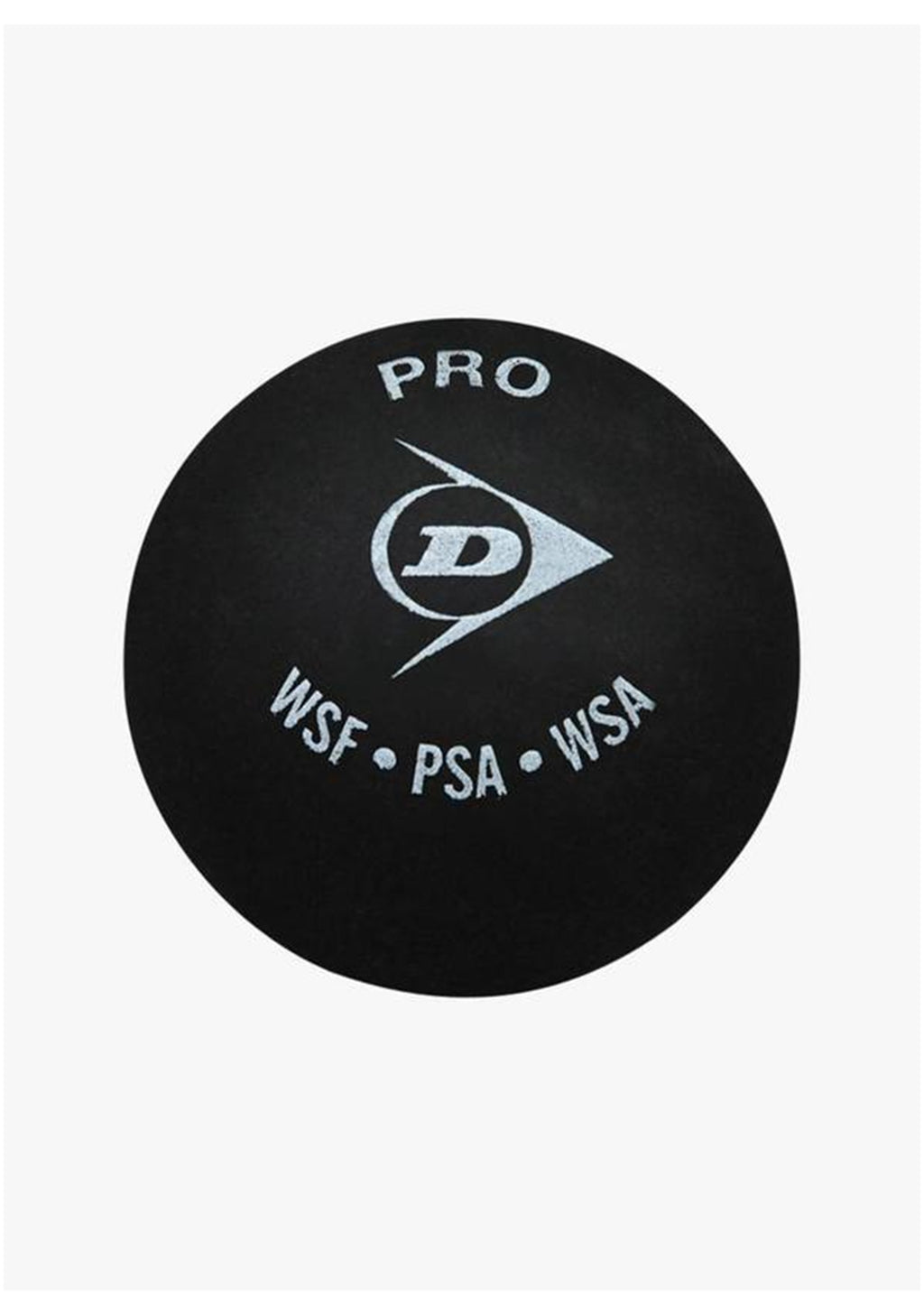 DUNLOP PRO SQUASH BALL (DOUBLE YELLOW DOT) <BR> DWDQ03731A