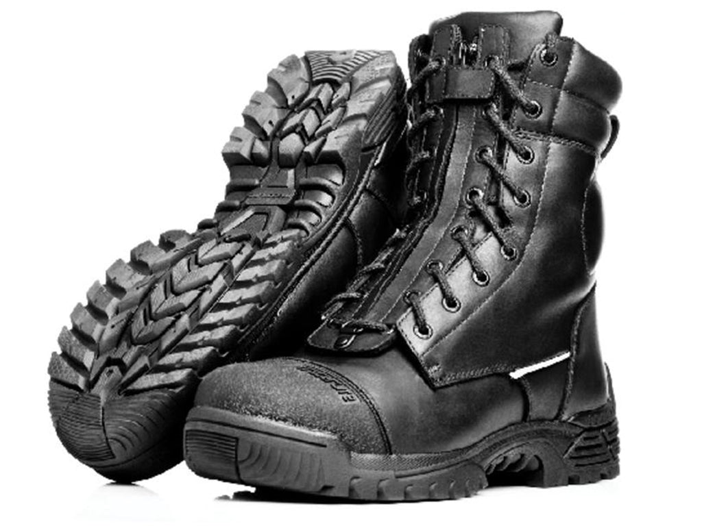 TRACERLITE MENS 8 INCH LEATHER FIRE BOOT <BR> ET1007