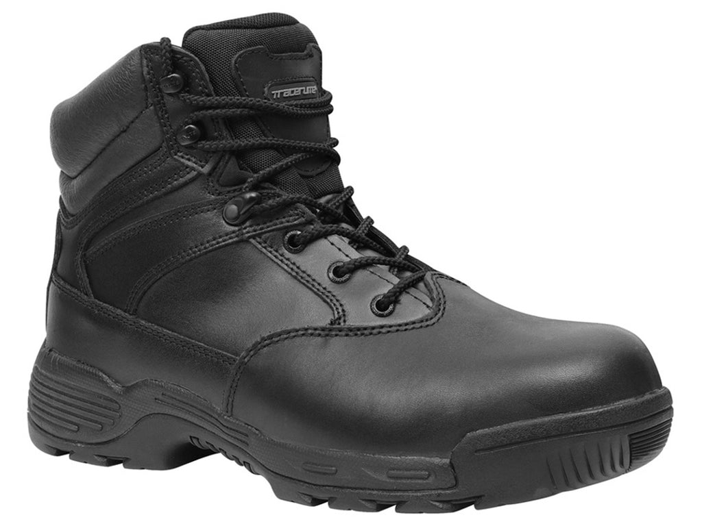 TRACERLITE MENS 6 INCH COMPOSITE TOE LEATHER BOOTS <BR> ET1009