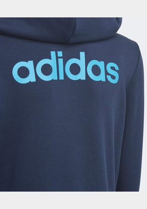 ADIDAS JUNIOR ESSENTIALS LINEAR HOODIE <BR> DV1818