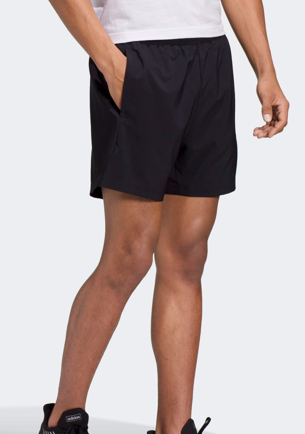 ADIDAS PLAIN CHELSEA SHORTS MENS BLACK <br> DQ3085