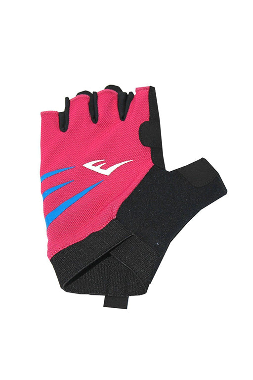 EVERLAST EDGE FITNESS GLOVES WITH FREE RUSSELL ATHLETIC 1L WATER BOTTLE <br> 140968PINK,- Jim Kidd Sports