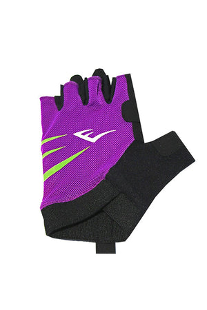 EVERLAST EDGE FITNESS GLOVES <br> 140968PURPLE