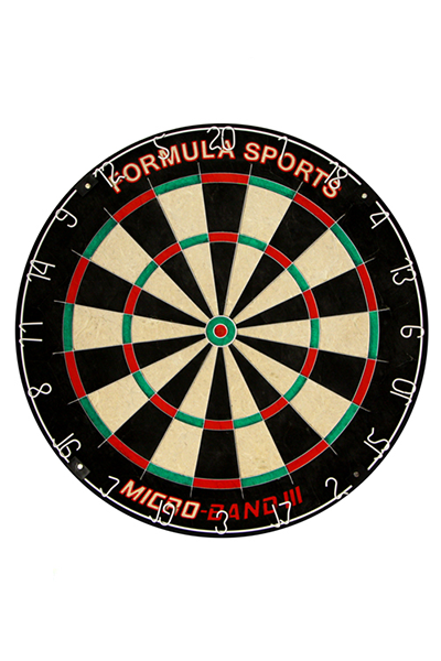 FORMULA MICRO BAND III BLADED DARTBOARD,- Jim Kidd Sports