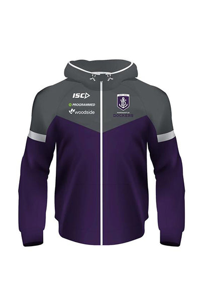 ISC FREMANTLE DOCKERS TECH HOODIE MENS <br> 7FD5THD1A,- Jim Kidd Sports