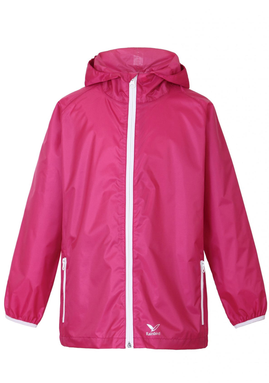 RAINBIRD UNISEX KIDS GOSTOW RAIN JACKET BRIGHT BERRY <BR> K8556