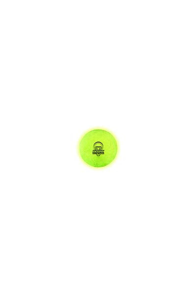 SPALDING GLOW IN THE DARK HIGH BOUNCE BALL <br> R5600
