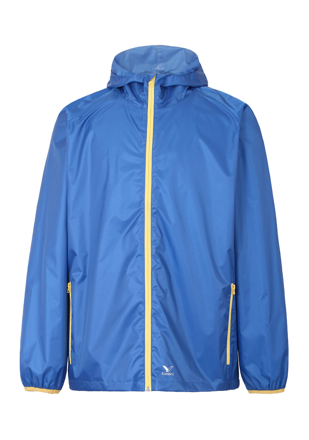 RAINBIRD UNISEX ADULTS GOSTOW RAIN JACKET BLUE/YELLOW <BR> 8531