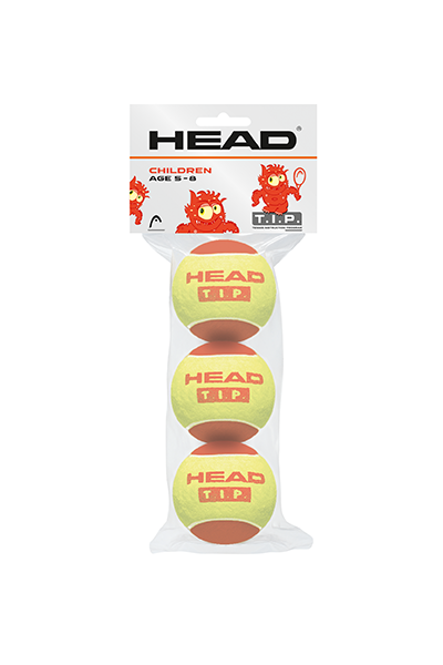 HEAD TIP 3 BALL PACK JUNIOR