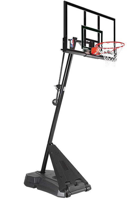 SPALDING 48 INCH HERCULES ACRYLIC PORTABLE BASKETBALL SYSTEM <BR>AA75036