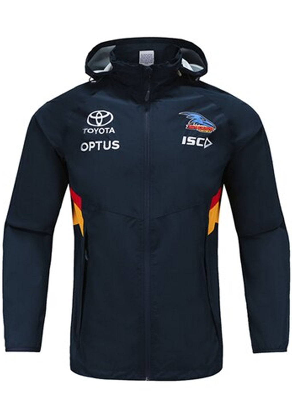 ISC ADELAIDE CROWS 2020 KIDS WET WEATHER JACKET <BR> AC20JKT01K