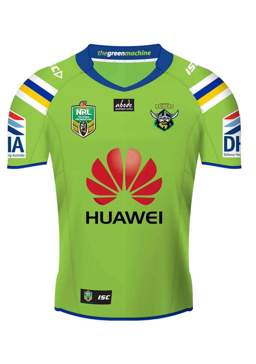 ISC CANBERRA RAIDERS MENS HOME JERSEY <br> 7CR5HJS1A