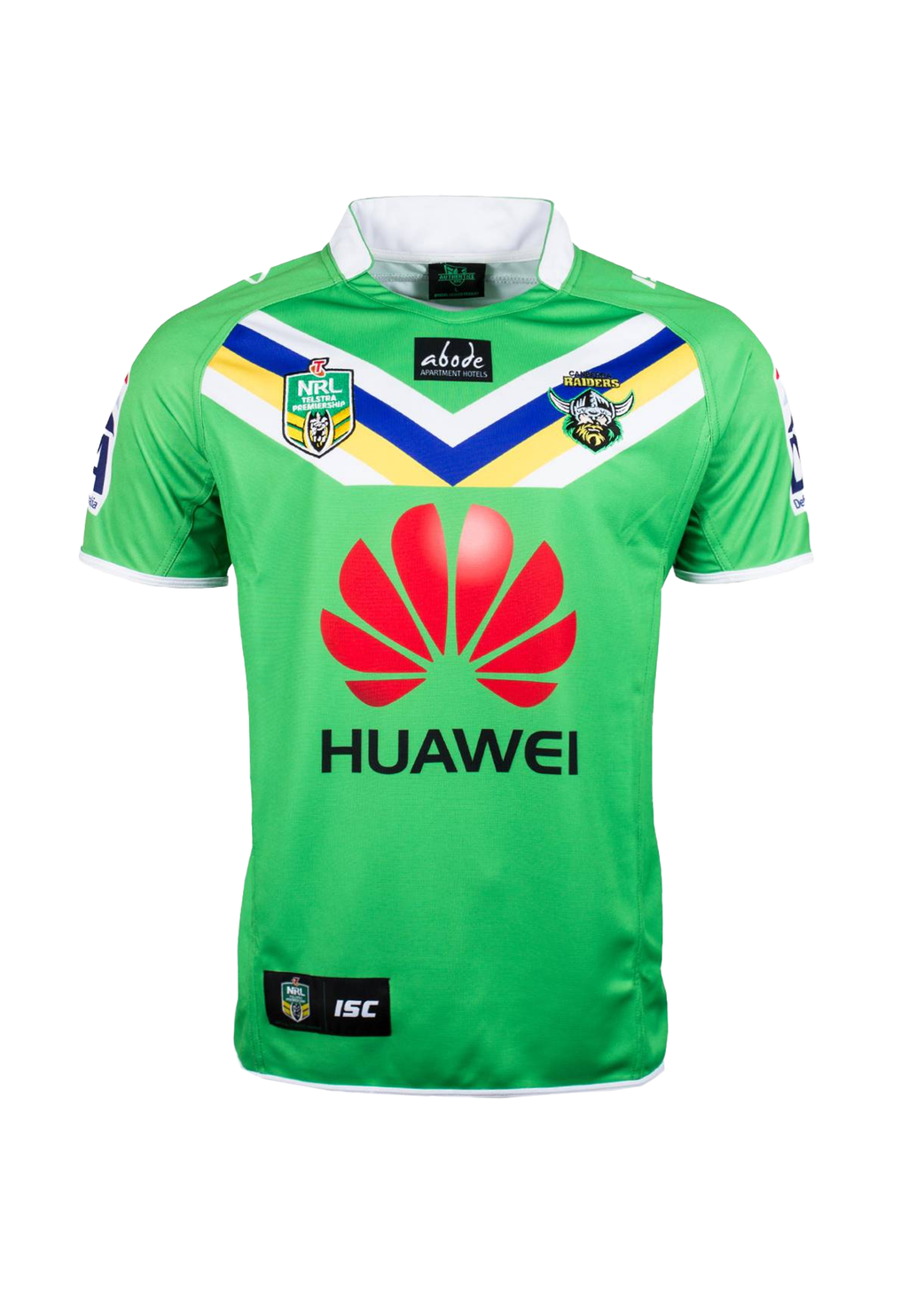 ISC CANBERRA RAIDERS HOME JERSEY ADULTS <br> 7CR4HJS1A