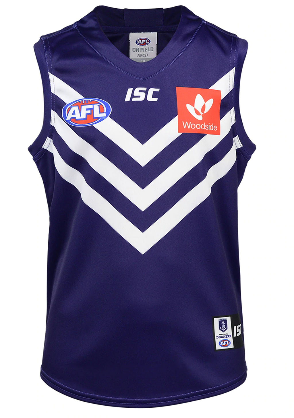 ISC FREMANTLE DOCKERS 2020 MENS HOME GUERNSEY <BR> FD20JSY01M