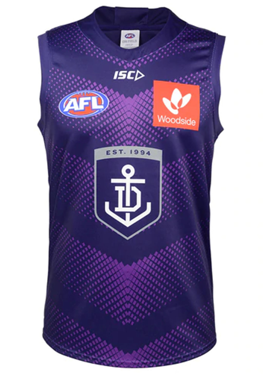 ISC FREMANTLE DOCKERS 2020 MENS TRAINING GUERNSEY <BR> FD20JSY03M