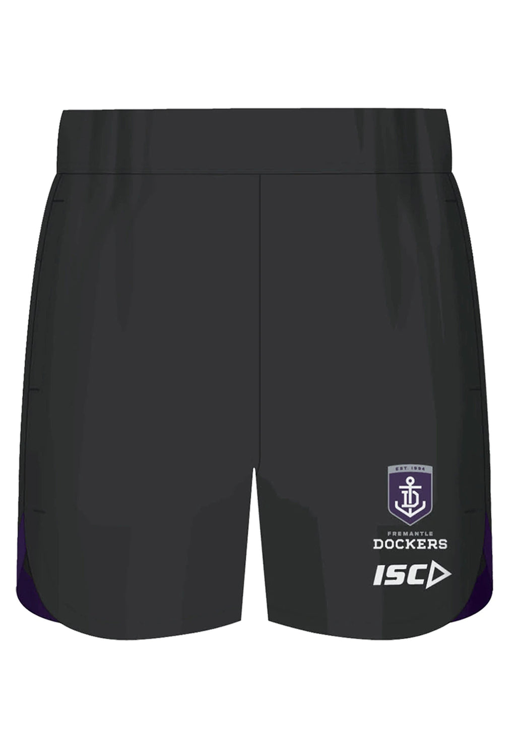 ISC FREMANTLE DOCKERS 2020 MENS TRAINING SHORTS <BR> FD20SHO01M