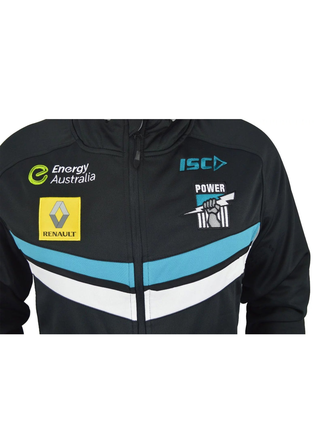 ISC PORT ADELAIDE POWER 2015 WOMENS TECH HOODIE <BR> 7PA5THD1L
