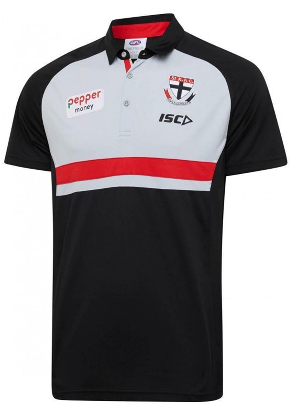 ISC ST KILDA 2020 MENS MEDIA POLO <BR> SK20POL01M