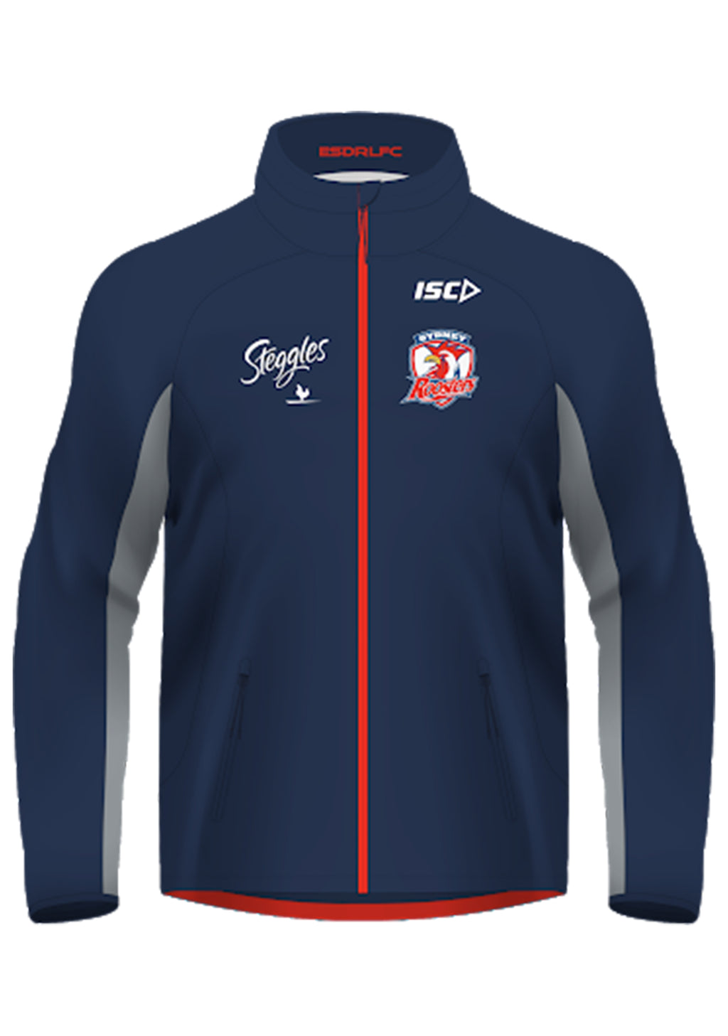 ISC MENS SYDNEY ROOSTERS 2016 RAIN JACKET <BR> SR16WWJ1A