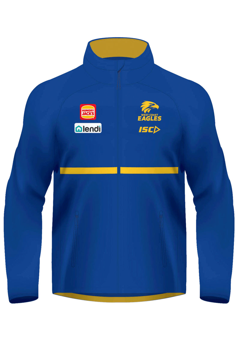ISC WEST COAST EAGLES 2020 JUNIOR WET WEATHER JACKET <BR> WC20JKT01K