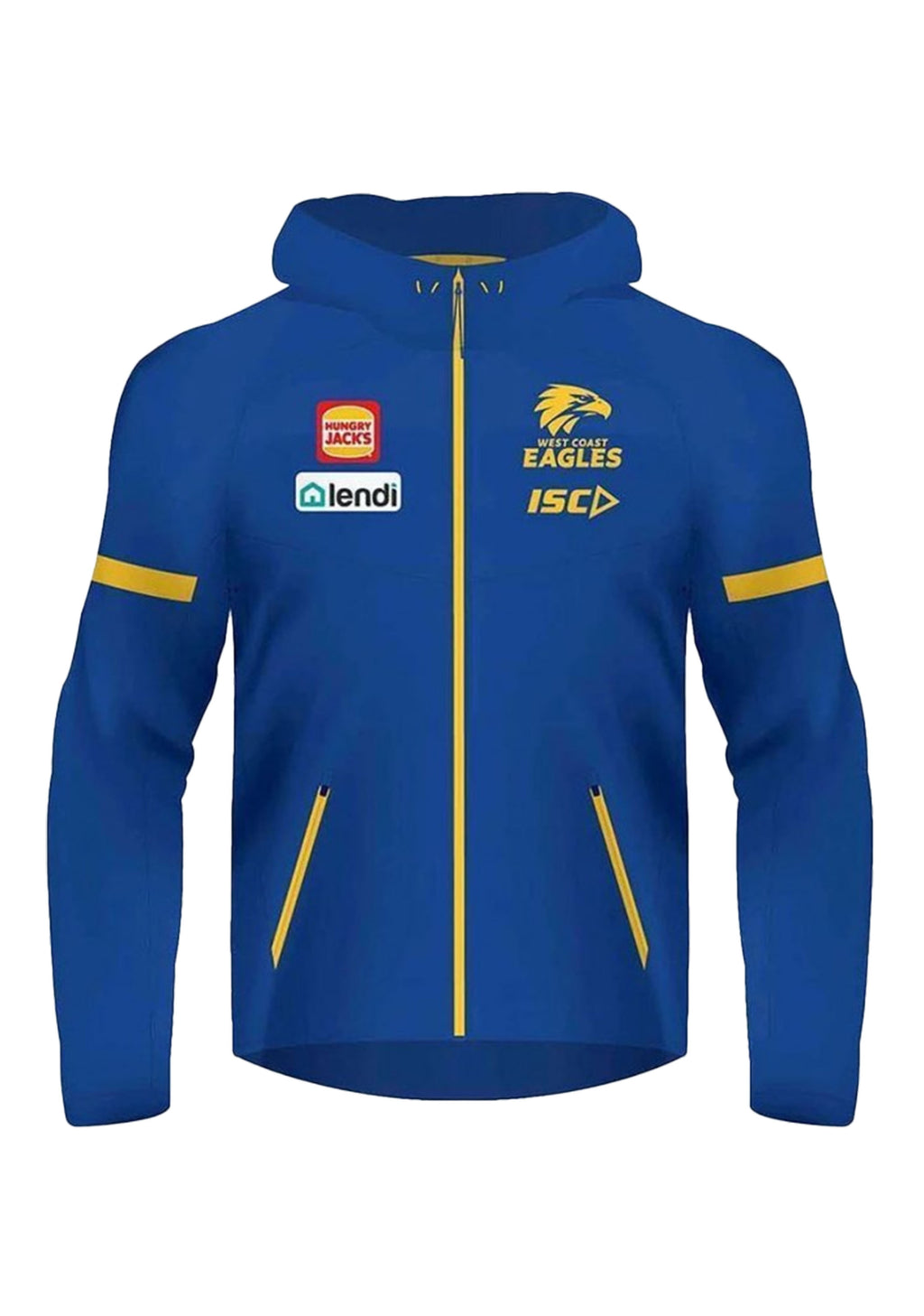 ISC WEST COAST EAGLES 2020 MENS TECH PRO HOODIE <BR> WC20HDY02M