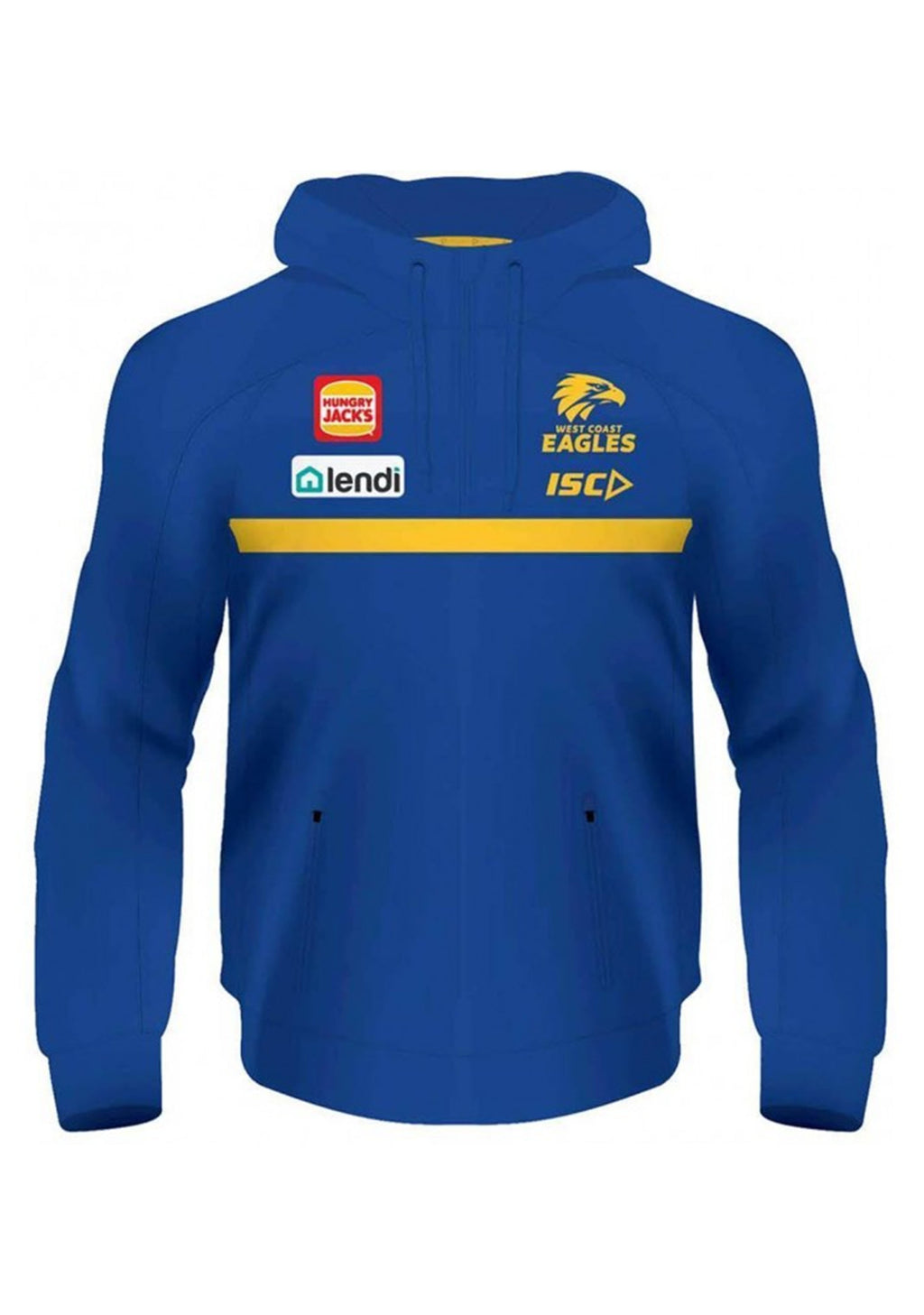 ISC WOMENS WEST COAST EAGLES 2020 SQUAD HOODIE <BR> WC20HDY01L