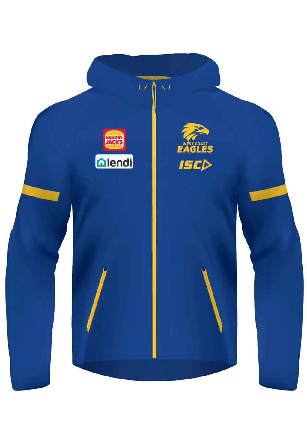 ISC WOMENS WEST COAST EAGLES 2020 TECH PRO HOODIE <BR> WC20HDY02L