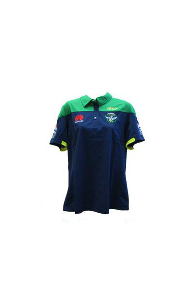ISC CANBERRA RAIDERS PERFORMANCE POLO WOMENS <br> 7CR5POL1L,- Jim Kidd Sports