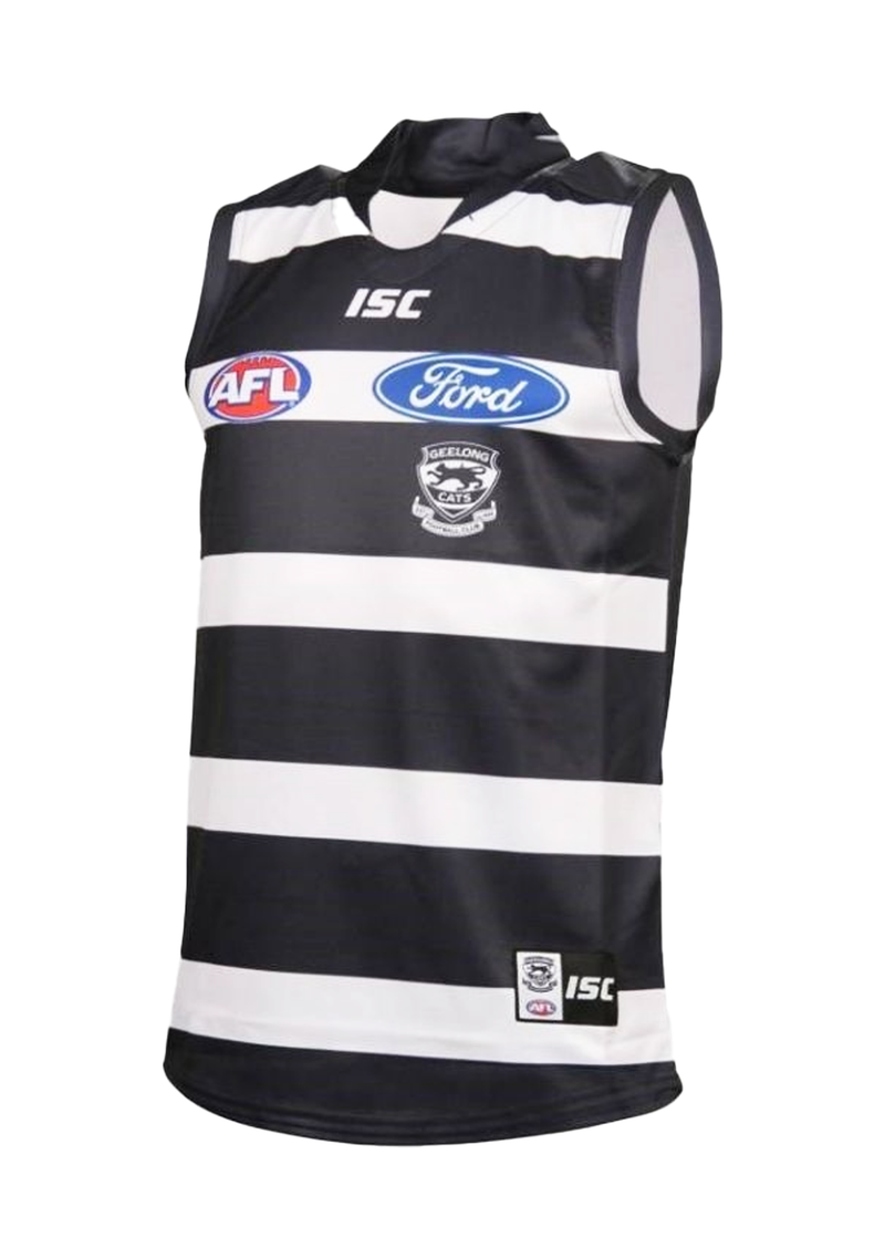 ISC GEELONG CATS REPLICA CLASH GUERNSEY MENS <br> 7GC4AJS1A