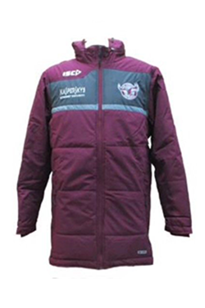 ISC MANLY WARRINGAH SEA EAGLES COACHES JACKET MENS <br> 7MW5CJK1A,- Jim Kidd Sports