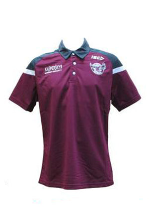 ISC MANLY WARRINGAH SEA EAGLES POLY POLO  MENS <br> 7MW5POL1A,- Jim Kidd Sports