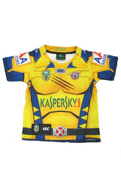 ISC MANLY WARRINGAH SEA EAGLES SUPERHERO JERSEY JUNIOR <br> 7MW4HJS11K,- Jim Kidd Sports
