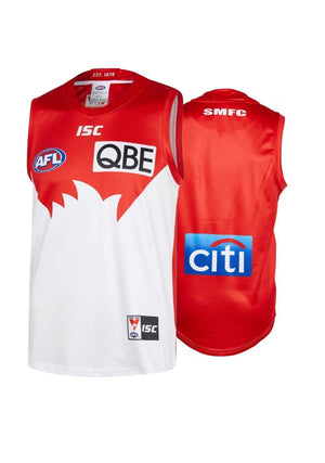 ISC SYDNEY SWANS 2019 MENS HOME GUERNSEY <BR>SW19JSY01M