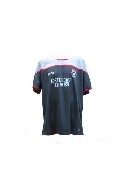 ISC ST KILDA SAINTS TRAINING TEE MENS <br> 7SK5TSH1A,- Jim Kidd Sports