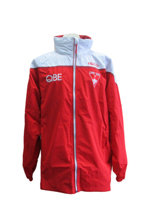 ISC SYDNEY SWANS WET WEATHER JACKET MENS <br> 7SW5WWJ1A,- Jim Kidd Sports