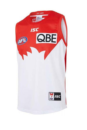 ISC SYDNEY SWANS 2018 GUERNSEY MENS <br> SW18JSY01M