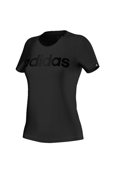 ADIDAS BASIC LINEAR TEE WOMENS,- Jim Kidd Sports