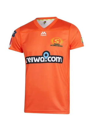 MAJESTIC ATHLETIC PERTH SCORCHERS JUNIOR REPLICA ON FIELD JERSEY <BR> MPT71780P