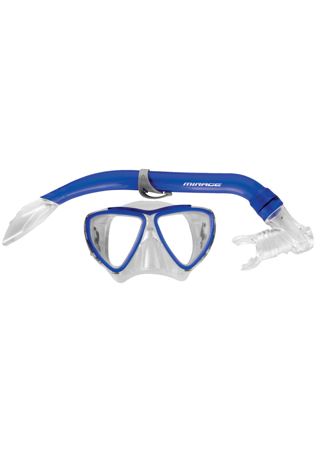 MIRAGE JUNIOR TURTLE SILITEX MASK AND SNORKEL SET <BR> SET-06