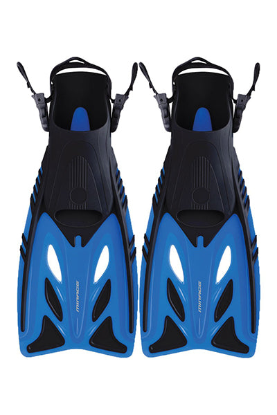 MIRAGE CRYSTAL DIVE FINS JUNIOR <br> F8BLUL,- Jim Kidd Sports