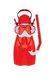 MIRAGE JUNIOR SHRIMP MASK, SNORKEL & FIN SET <br> F-SET-06