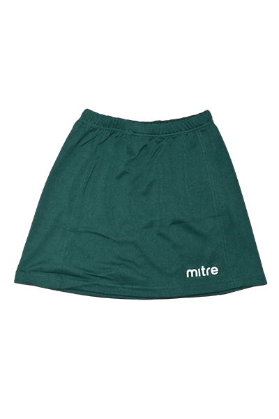 MITRE NETBALL SKIRT BOTTLE GREEN <br> MT7150
