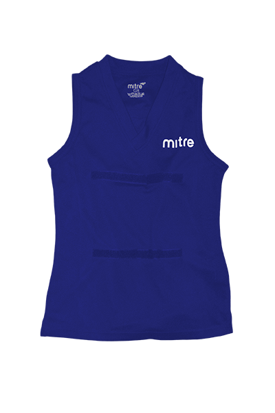 MITRE NETBALL TOP ROYAL BLUE <br> MT7110