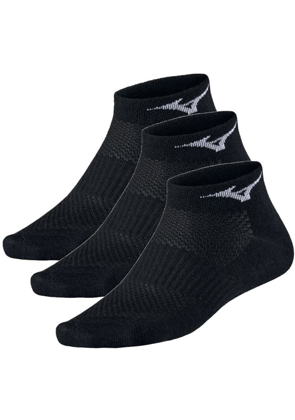 MIZUNO TRAINING MID SOCKS 3 PACK <BR> 67UU950