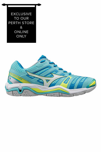 MIZUNO WAVE STEALTH 4 NETBALL WOMENS <br> X1GB179602