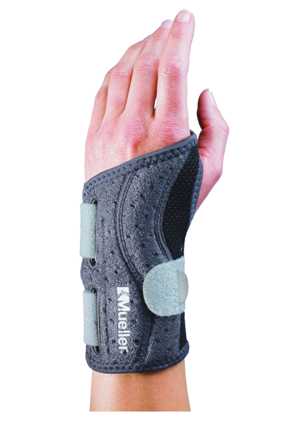 MUELLER ADJUST-TO-FIT CONTOURED WRIST BRACE <BR> 074676638706