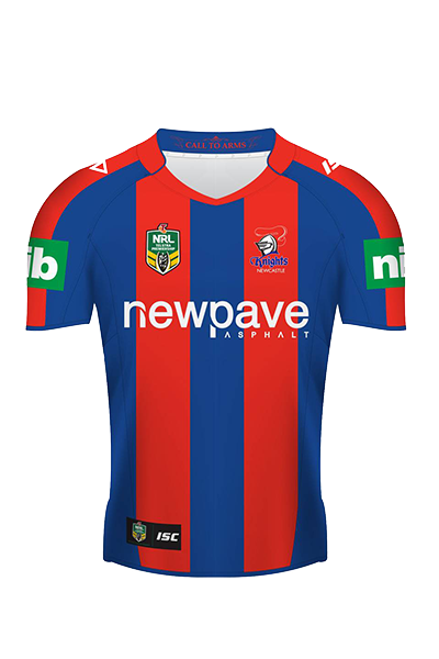 ISC NEWCASTLE KNIGHTS REPLICA HOME JERSEY JUNIOR <br> 7NK5HJS1K,- Jim Kidd Sports