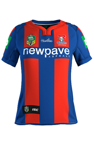 ISC NEWCASTLE KNIGHTS REPLICA HOME JERSEY WOMENS <br> NK16HJS1L,- Jim Kidd Sports